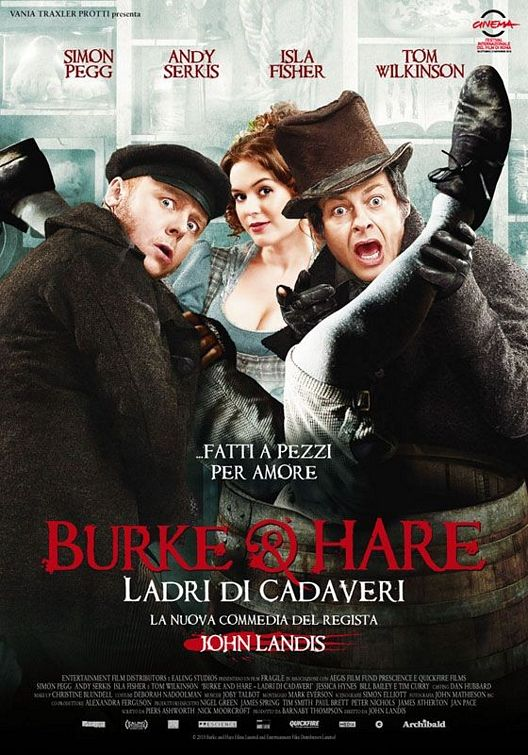 poster Burke and Hare (2010)