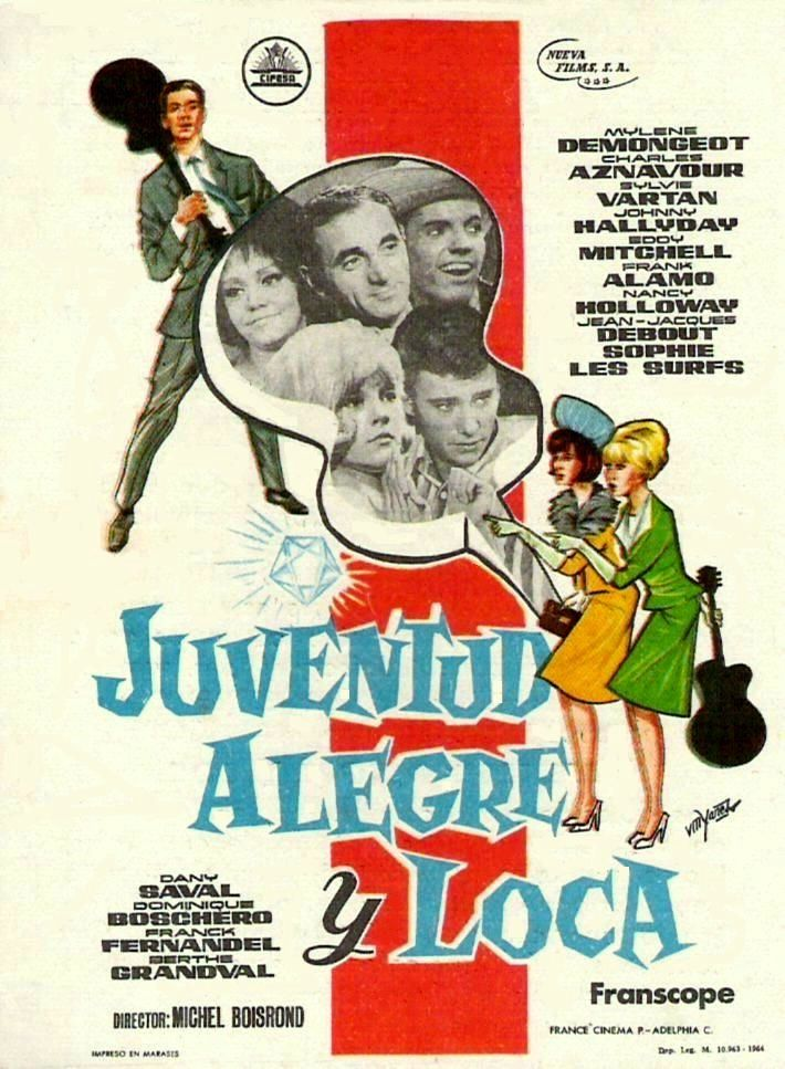 poster Cherchez l'idole (Find the Idol) (1964)