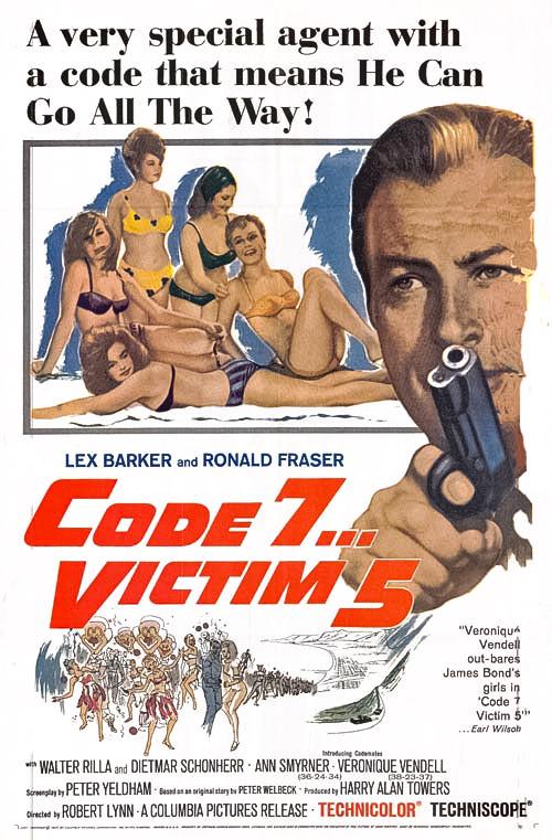 poster Code 7, Victim 5 (1964)