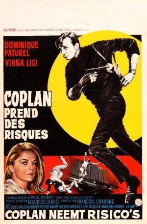 poster Coplan prend des risques (1964)