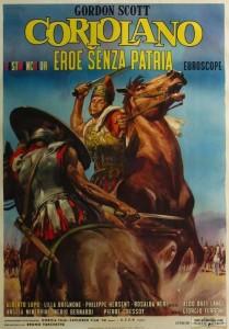 poster Coriolano eroe senza patria (Thunder of Battle) (1964)