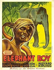 poster Elephant Boy (1937)