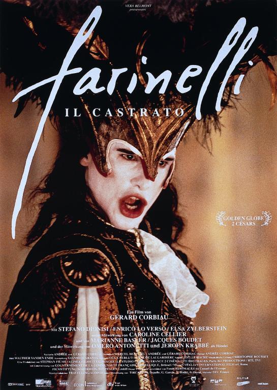 poster Farinelli - Il costrato (1994)