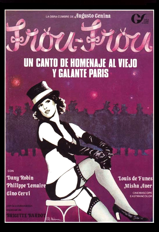 poster Frou-Frou (1955)