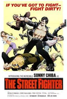 poster Gekitotsu! Satsujin ken (The Street Fighter) (1974)