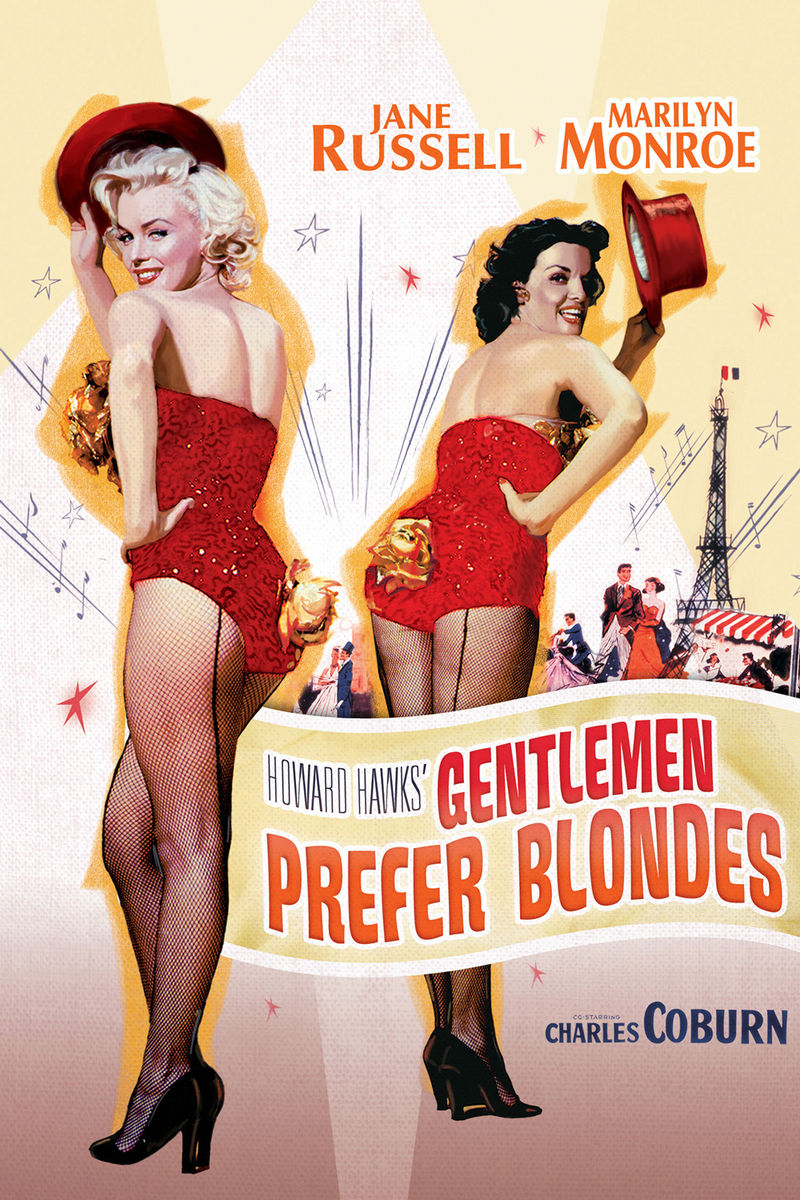 poster Gentlemen Prefer Blondes (1953)