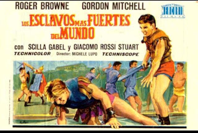poster Gli schiavi piu forti del mondo - Seven Slaves Against Rome (1964)