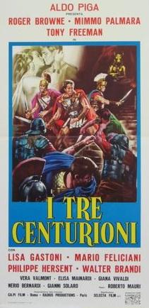 poster I tre centurioni (Three Swords for Rome) (1964)