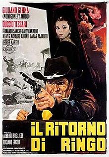 poster Il Ritorno di Ringo (1965)