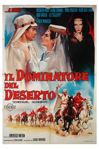 poster Il dominatore del deserto - Desert Raiders (1964)
