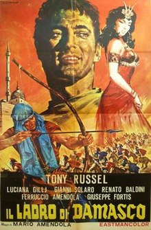 poster Il ladro di Damasco (Sword of Damascus) (1964)