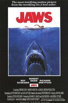 poster Jaws (1975)