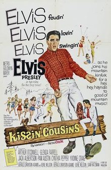 poster Kissin' Cousins (1964)