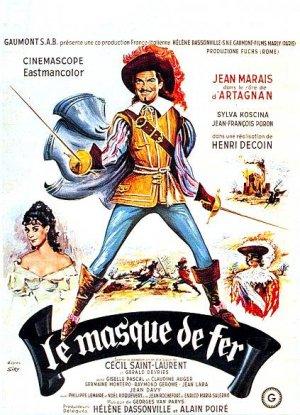 poster Le masque de fer (1962)