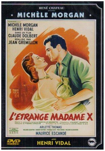 poster L'etrange Madame X (1951)