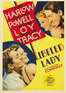 poster Libeled Lady (1936)