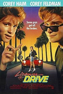 poster License To Drive (1988)