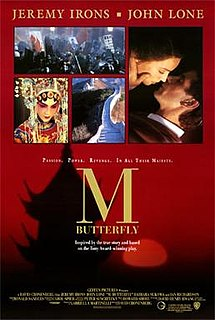 poster M. Butterfly (1993)