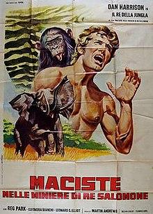 poster Maciste nelle miniere di re Salomone (1964)