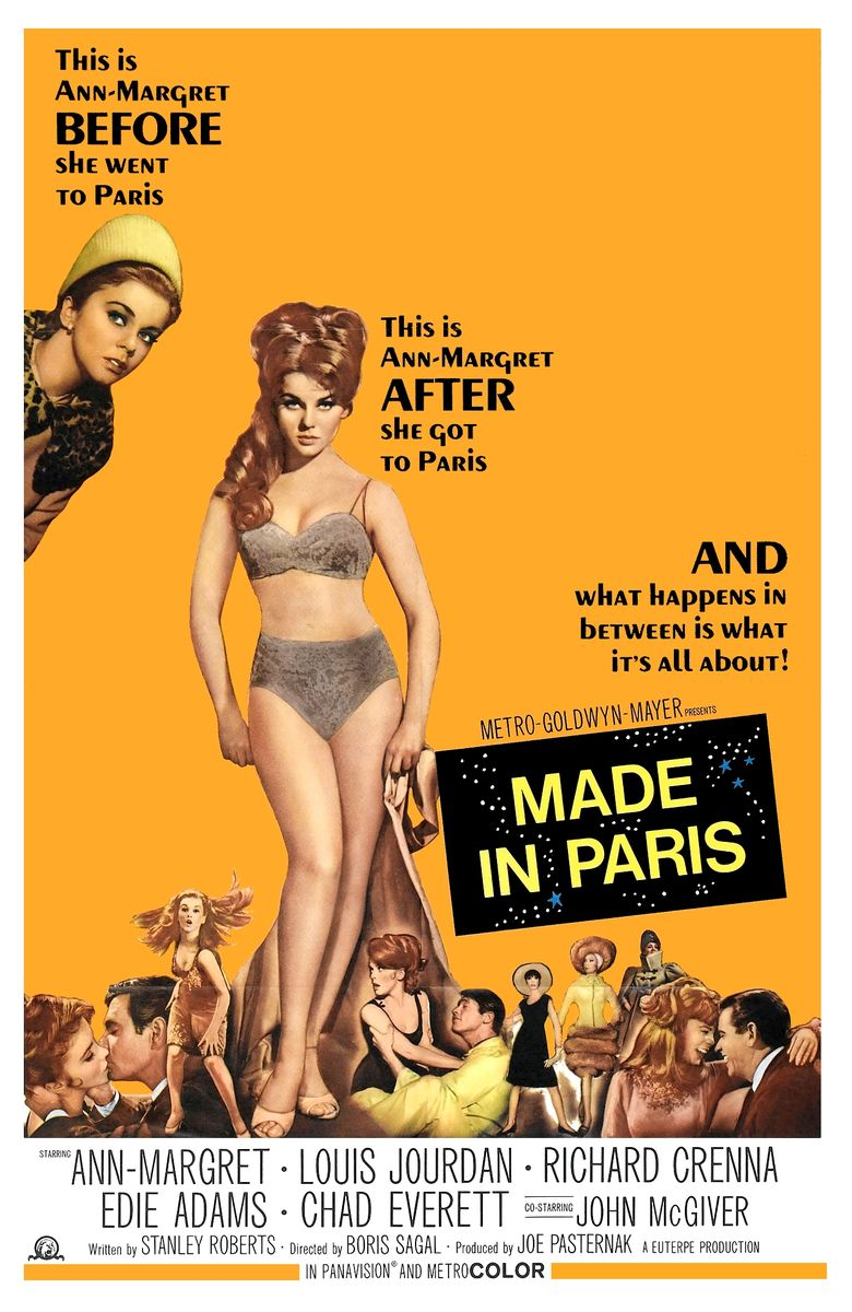 poster Made in Paris (1966)