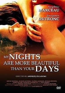 poster Mes nuits sont plus belles que vos jours (1989)