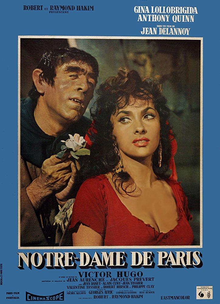 poster Notre-Dame de Paris (1956)