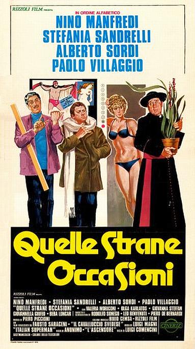 poster Quelle strane occasioni (1976)