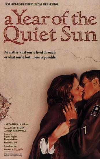 poster Rok spokojnego slonca (The Year of the Quiet Sun) (1984)