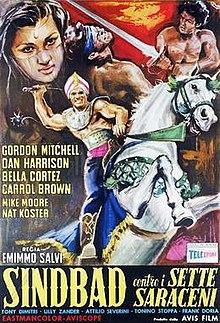 poster Sinbad contro i sette saraceni (1964)