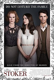 poster Stoker (2013)