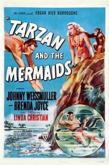 poster Tarzan And The Mermaids (1948)