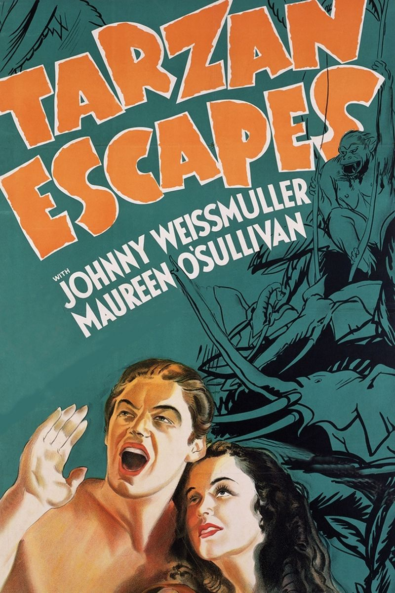 poster Tarzan Escapes (1936)