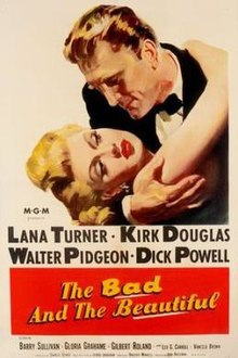 poster The Bad and the Beautiful (1952)