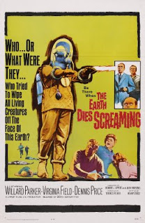 poster The Earth Dies Screaming (1964)