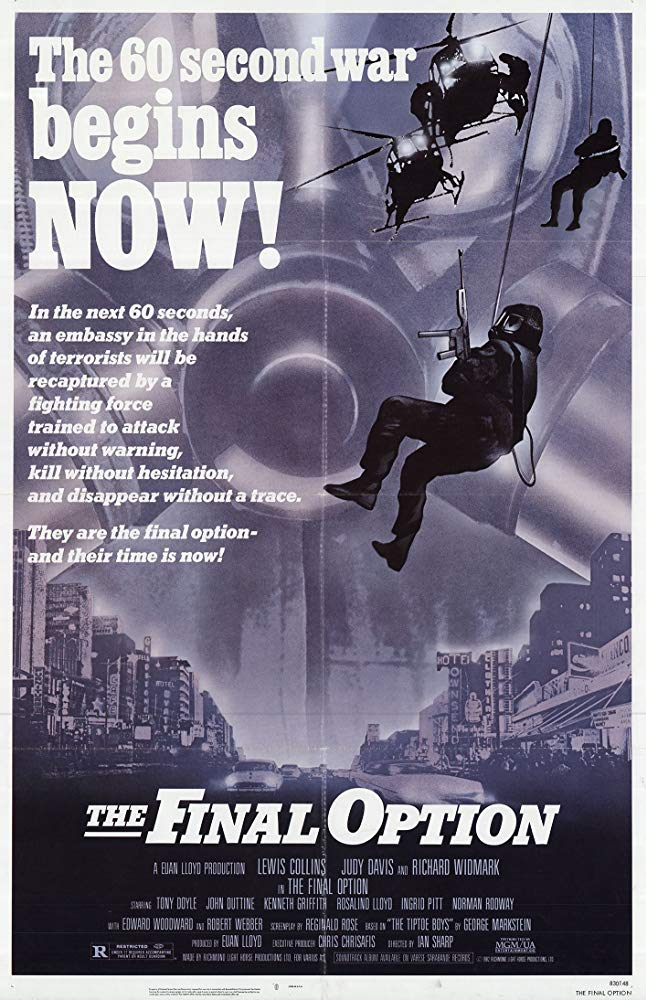poster The Final Option - Who Dares Wins (1982)