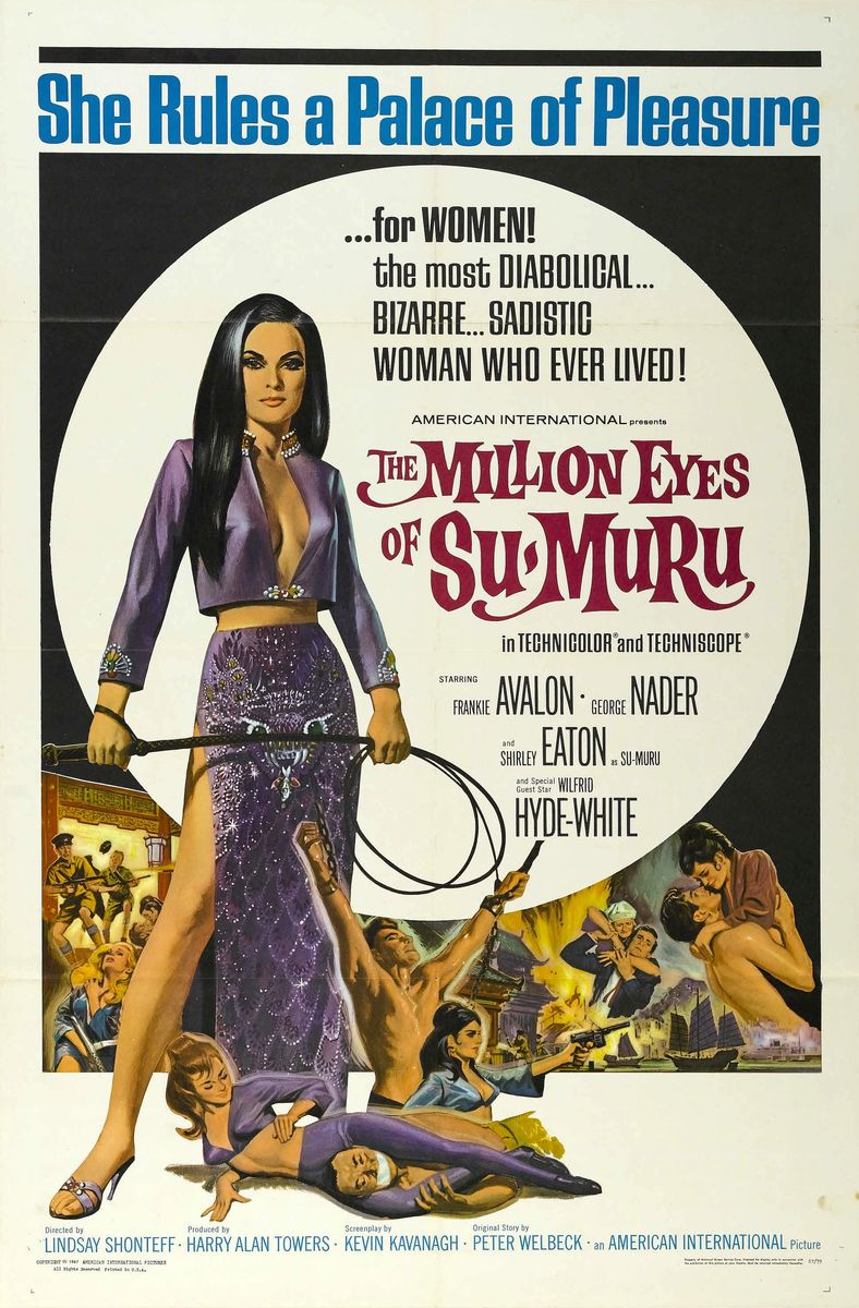 poster The Million Eyes of Sumuru (1967)