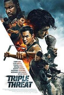 poster Triple Threat (2019)