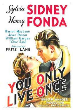 poster You Only Live Once (1937)