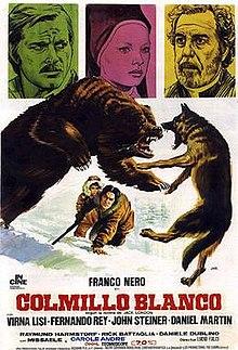 poster Zanna Bianca (White Fang) (1973)