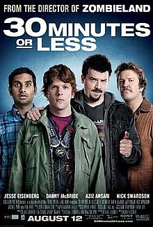 poster 30 Minutes or Less (2011)