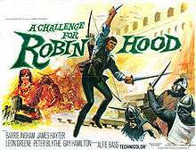 poster A Challenge for Robin Hood (1967)