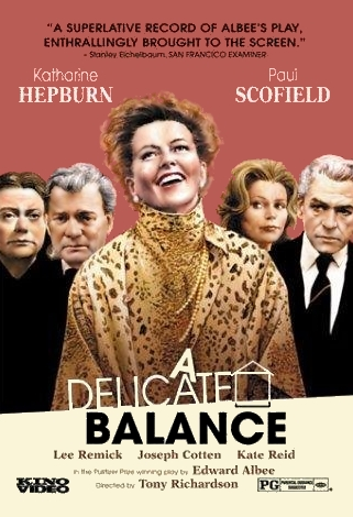 poster A Delicate Balance (1973)