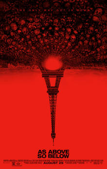 poster As Above, So Below (2014)