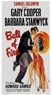 poster Ball of Fire (1941)