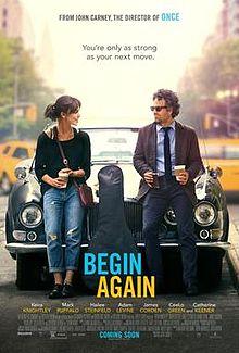 poster Begin Again (2014)