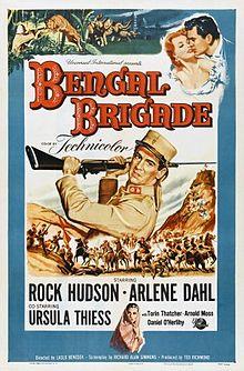 poster Bengal Brigade (1954)