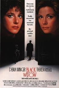 poster Black Widow (1987)