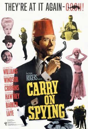 poster Carry On Spying (1964)