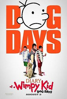 poster Diary of a Wimpy Kid Dog Days (2012)