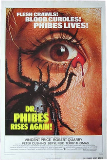 poster Dr. Phibes Rises Again (1972)